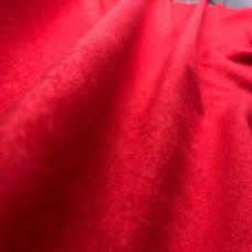 Велюр алоба красный