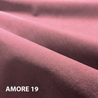 Велюр мебельная ткань для обивки amore 19 flamingo, розовый