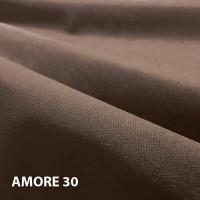 Велюр мебельная ткань для обивки amore 30 brown, коричневый