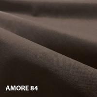 Велюр мебельная ткань для обивки amore 84 dk. Brown, темно-коричневый