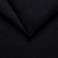 Рогожка обивочная ткань для мебели artemis15  black,черный
