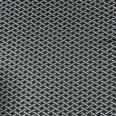 Автожаккард рогожка белая на ППУ 3 мм