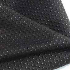 Антискользящая подкладочная ткань антислип черный