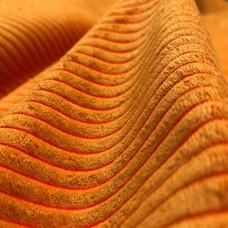 Велюр мебельная ткань для обивки Capri 8, оранжевая