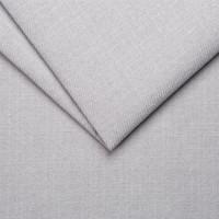Рогожка обивочная ткань для мебели Chester 15 silver, серебро