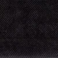 Велюр мебельная ткань для обивки gordon 100 black, черный