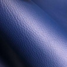 Экокожа Auto-Hortica C2106MF на микрофибре, синяя, гладкая, 1,2 мм
