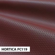 Экокожа HORTICA PC119 красная перфорация