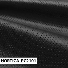 Экокожа HORTICA PC2101 черная перфорация