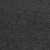 Рогожка обивочная ткань для мебели hugo 13 black, черная