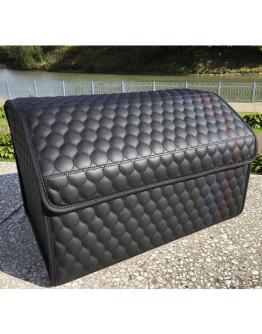Корф органайзер в багажник стиль BMW М, цвет чёрный+строчка