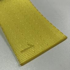 Лента ремня безопасности 01 желтая