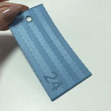 Лента ремня безопасности 24 голубая (пороховая синь)