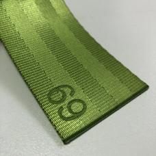 Лента ремня безопасности 69 лайм (зеленый)