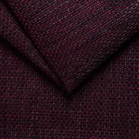 Рогожка обивочная ткань для мебели magma 20 purple-dlack, пурпурно-черный