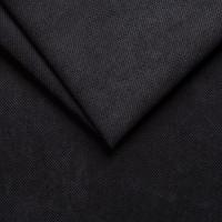 Велюр обивочная ткань для мебели savoy 100 black, черный