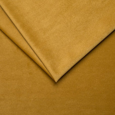 Обивочная ткань для мебели триковелюр swing 07 mustard, горчичный