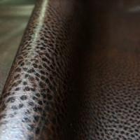 Мебельная экокожа вега, коричневая
