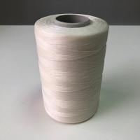 Нитки вощеные P-Plus 1.0/500 Polyester MU (0201) белый