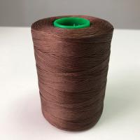 Нитки вощеные P-Plus 1.0/500 Polyester MU (9161) темно-коричневый