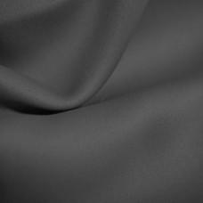 Блэкаут интерьерная ткань для штор и портьер, негорючая нить, термотрансфер, 300 см, черный