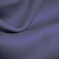 Блэкаут интерьерная ткань для штор и портьер, негорючая нить, термотрансфер, 300 см, темно синий