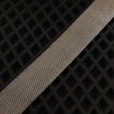 Лента окантовочная Стропа для ковриков серая