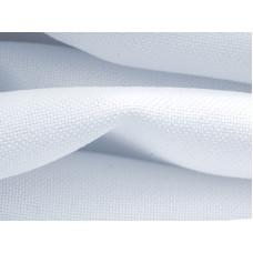 Габардин интерьерная ткань для штор и портьер Премиум, Термотрансфер, ширина рулона 160 см, белый аист