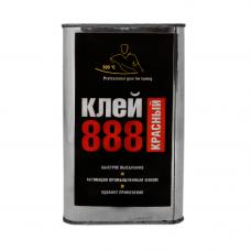 Клей жидкий 888 ultra red в железной банке 1л.