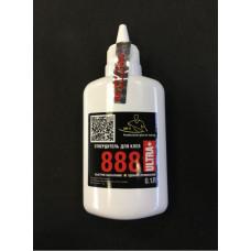 Отвердитель жидкий для клея 888 Ultra Plus в железной банке 0,1л.