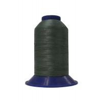 Нитки швейные polyart20 1500 мт(3992) темно-серый