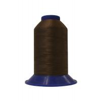 Нитки швейные polyart mt 20/3  1500(0086) коричневый