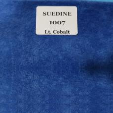 Микровельвет ткань для мебели suedine 1007 lt. Cobalt