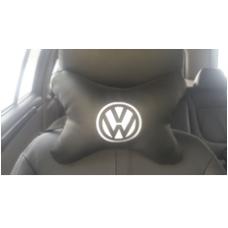 Подушка косточка с вышивкой Volkswagen