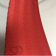 Лента ремня безопасности 06 красная (алая)